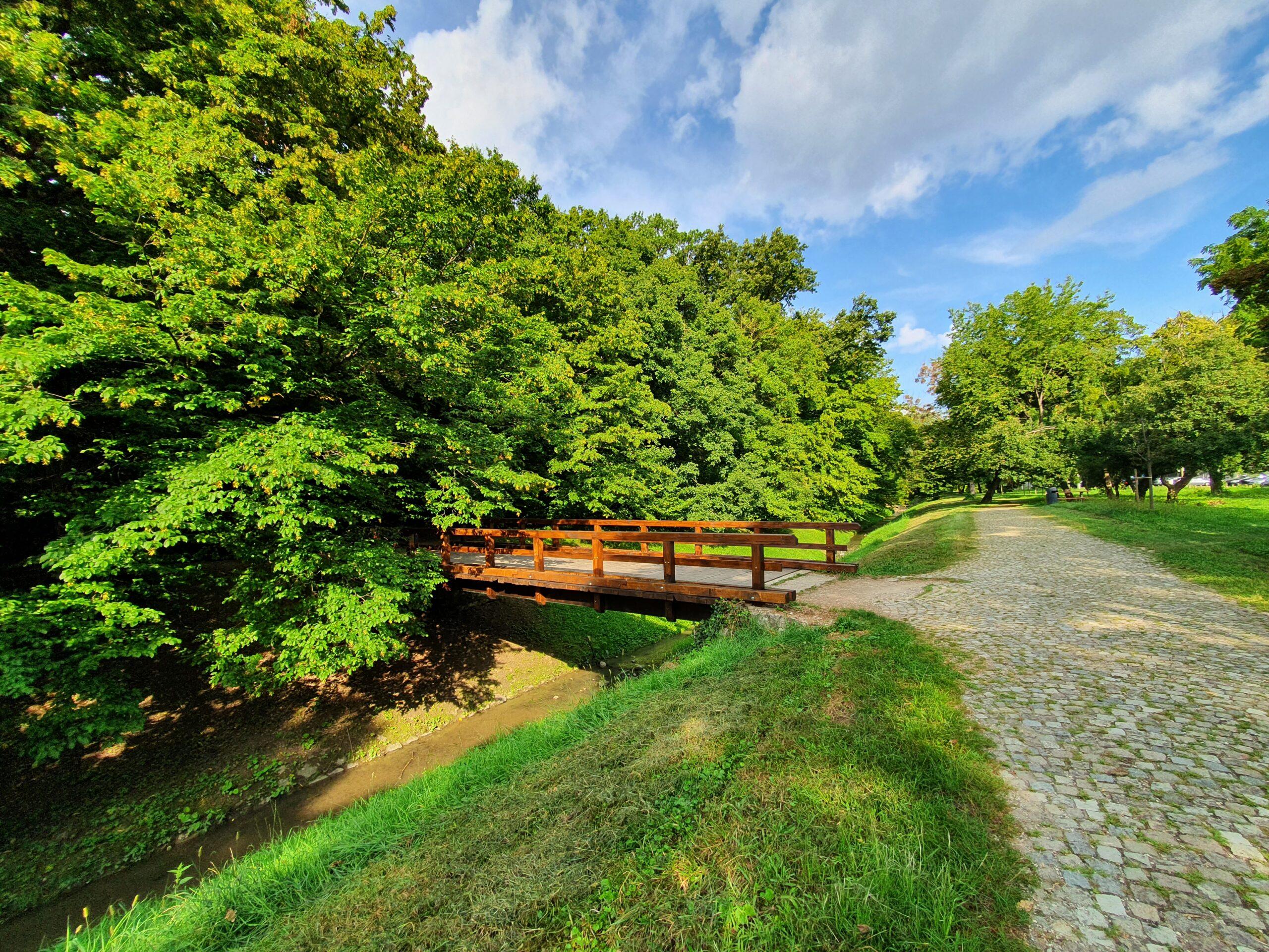 Obnovljen most Bliznec