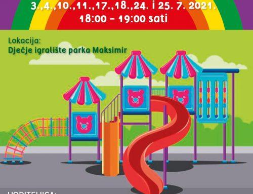 Ljetne igraonice u parku Maksimir